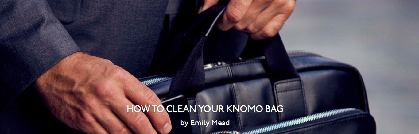 Cleaning your bag 1