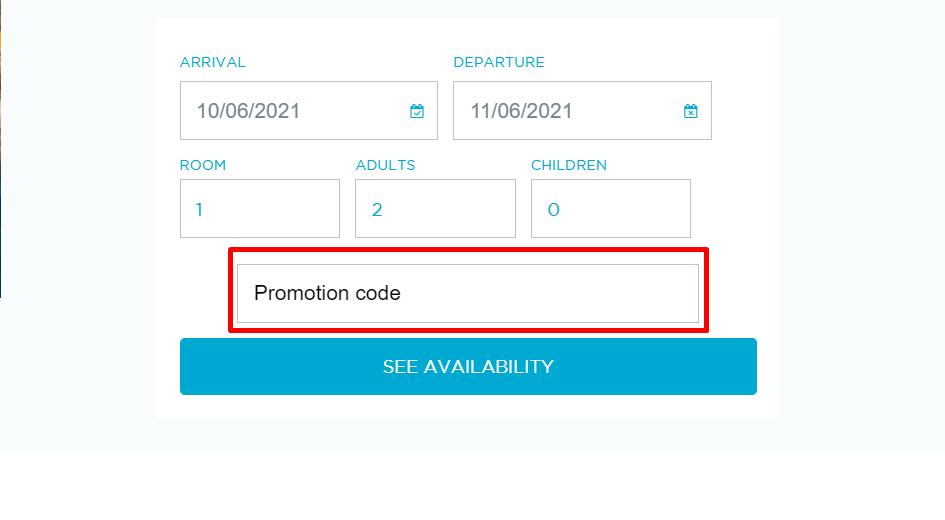 How do I use my Htophotels promotional code?