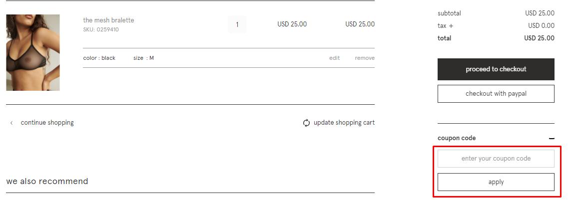 How do I use my Blush coupon code?