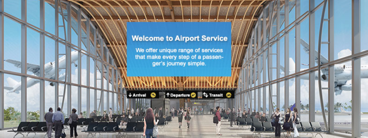 About Airport Services Homepage