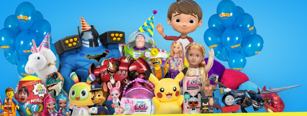 About Smyths Toys Homepage