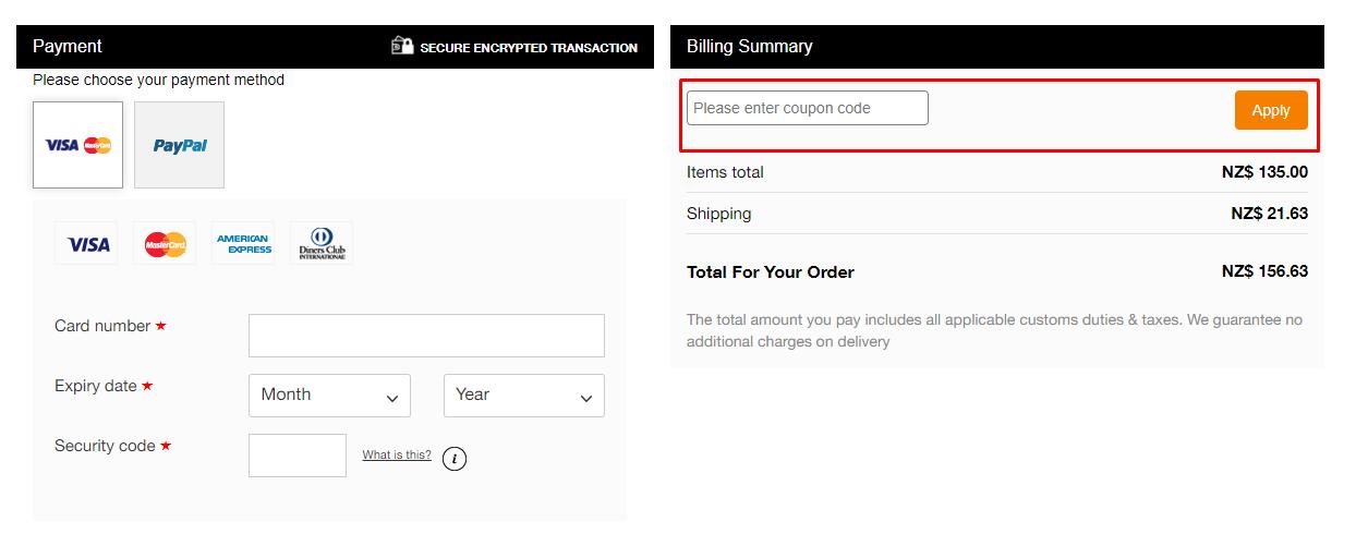 How do I use my Callaway apparel coupon code?
