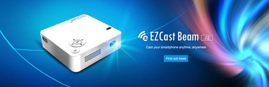 About EZCast Homepage