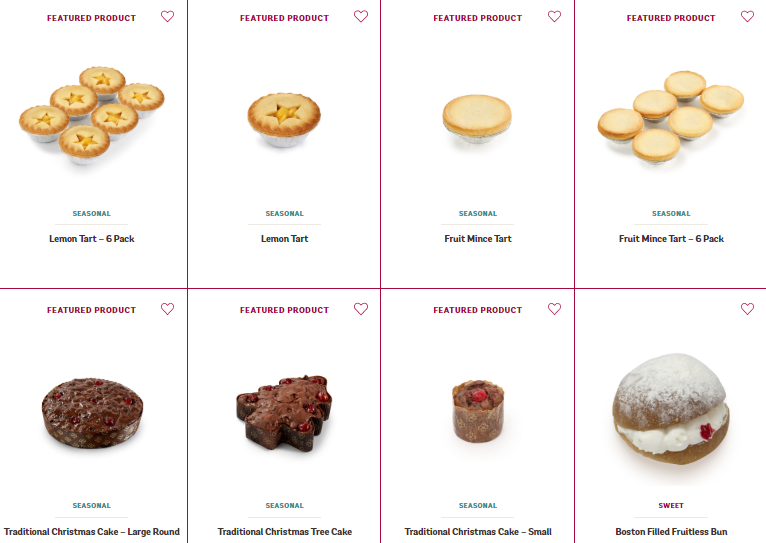 Bakers Delight Products