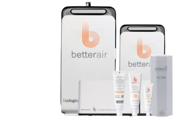 About BetterAir Homepage