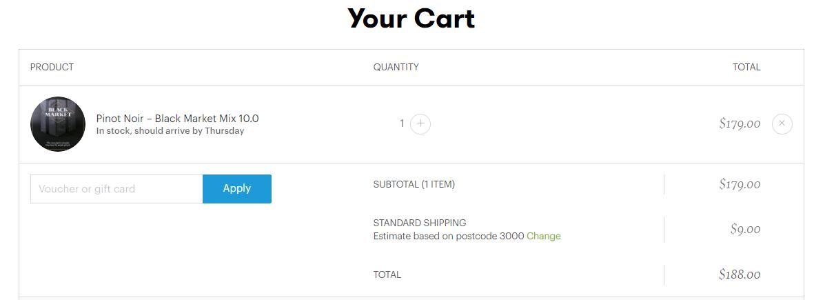How do I use my Vinomofo discount code?