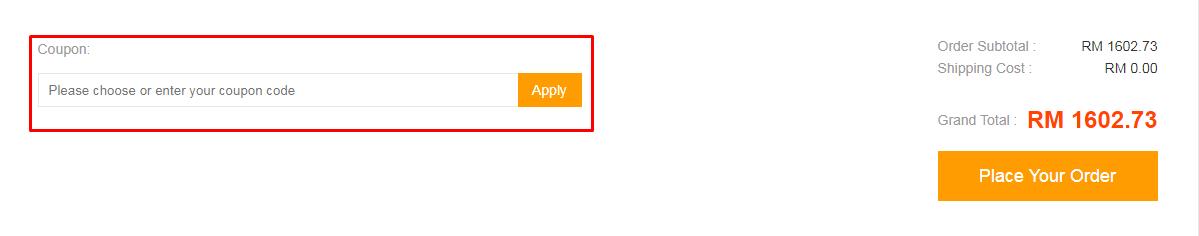 How do I use my Geekbuying coupon code?