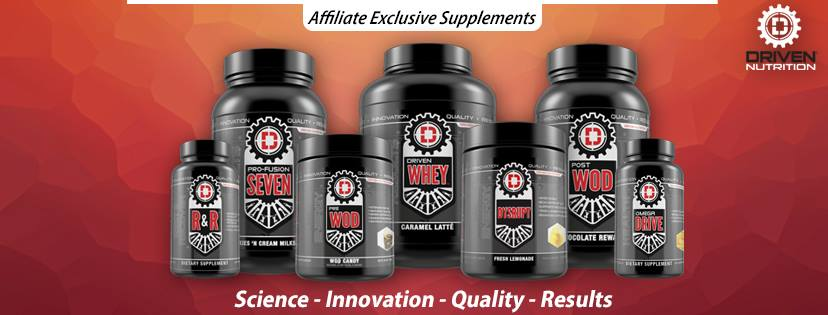 About Driven Nutrition Homepage