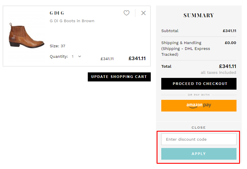 How Do I use my Atterley discount code?