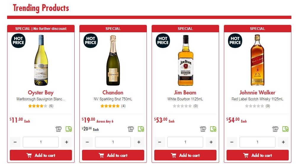 First Choice Liquor Best Sellers
