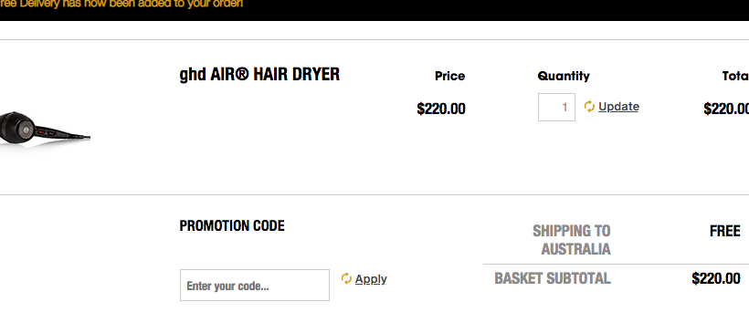 How to use a ghd discount coupon code