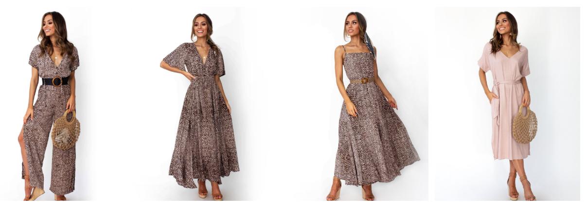 Gingham & Heels Dresses