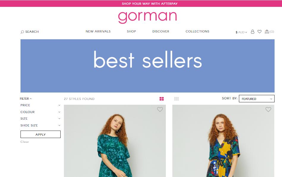 Gorman Homepage