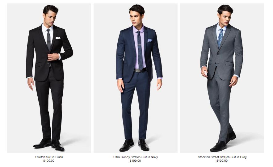 Hallenstein Brothers Suits