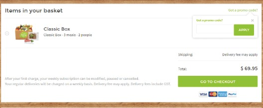 How to use a HelloFresh discount coupon code