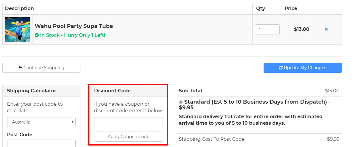 How do I use my CoolThings discount code