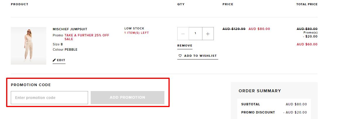 How do I use my Bardot discount code