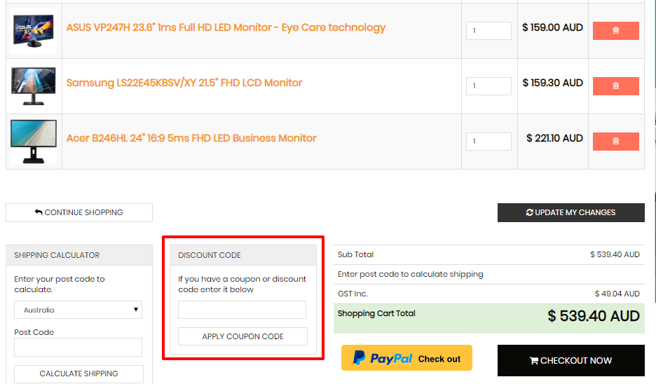 How do I use my Device Deal discount code