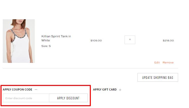 How do I use my P.E Nation discount code