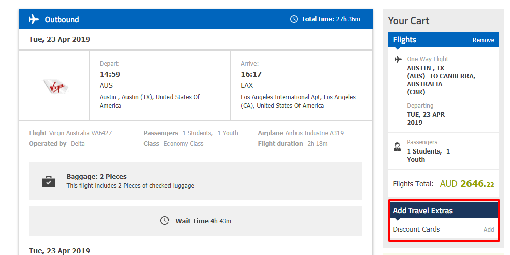 How do I use my STA Travel discount code