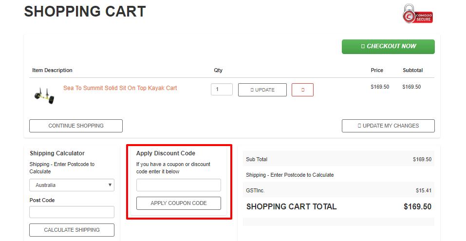 How do I use my Wild Earth discount code