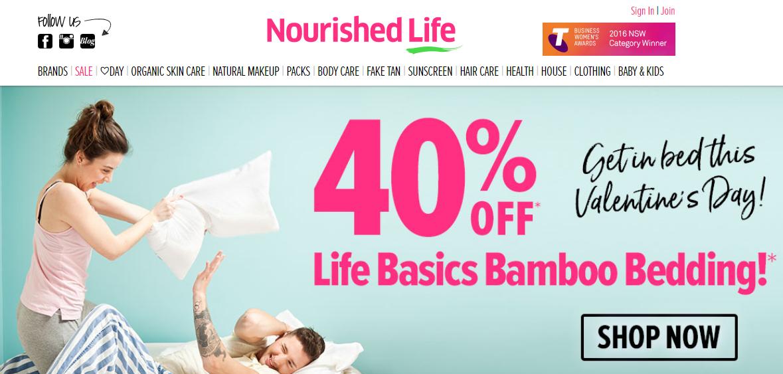 Nourished Life Homepage