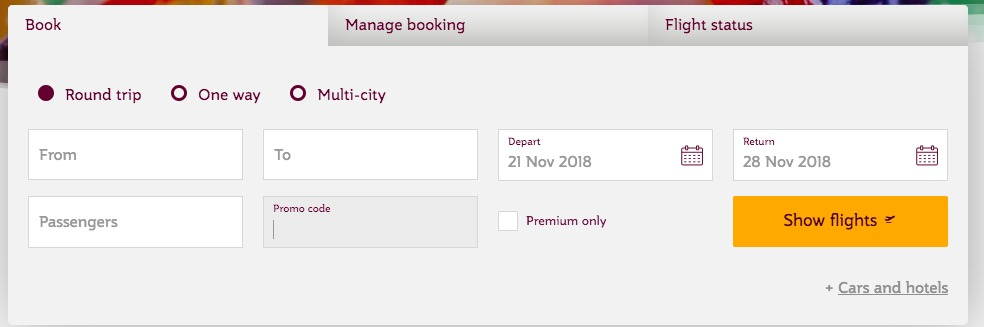 How to use a Qatar Airways discount coupon code
