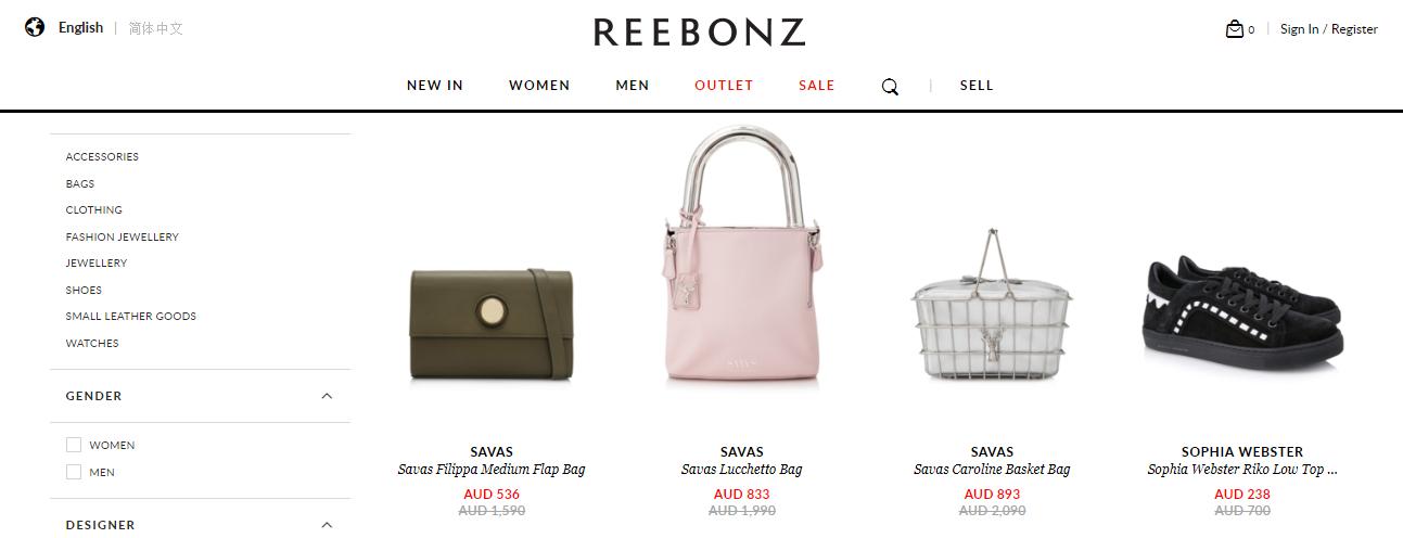 Reebonz Sales
