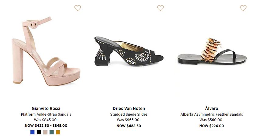 Saks 5th Avenue Shoes Sales