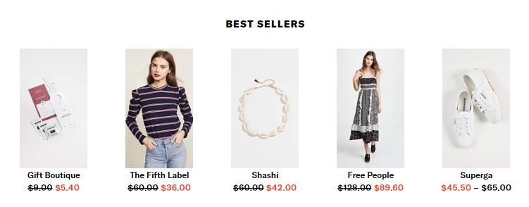 Shopbop Best Sellers