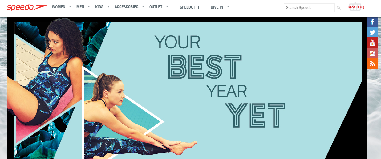 Speedo Homepage