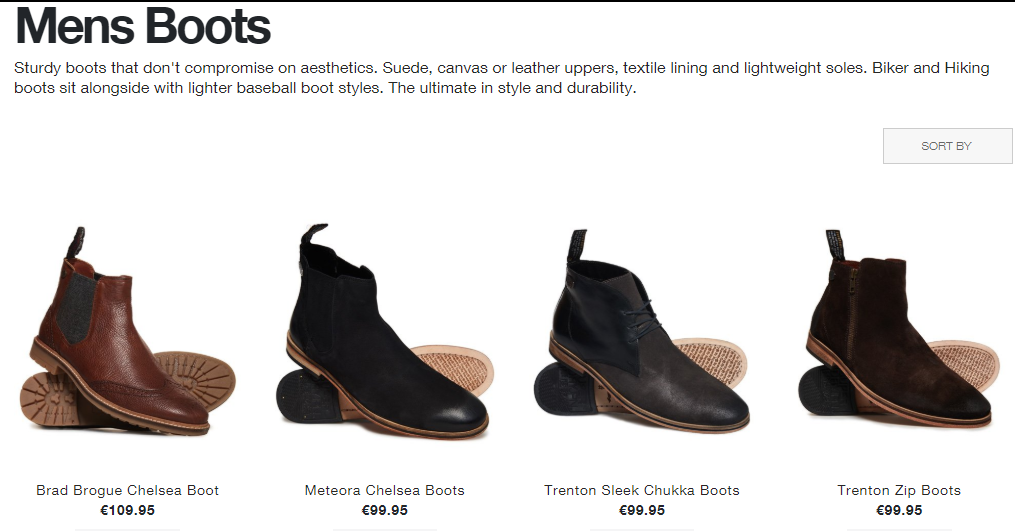 Superdry Mens Boots Page