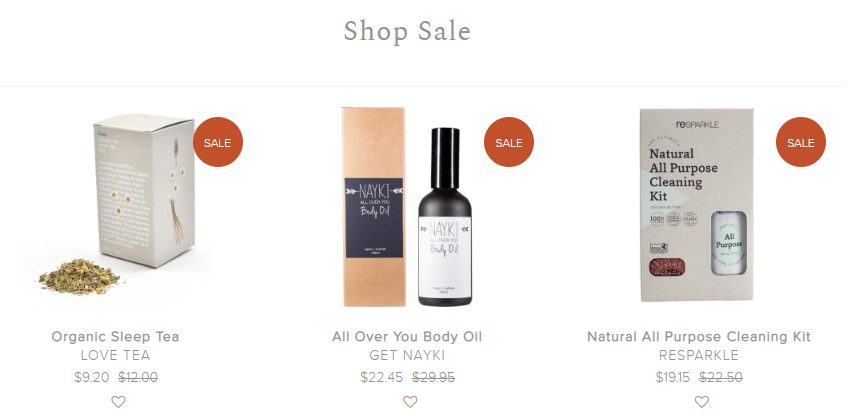 The Clean Collective Sales