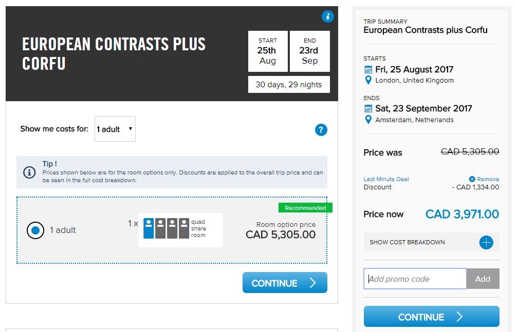 use my Contiki discount code