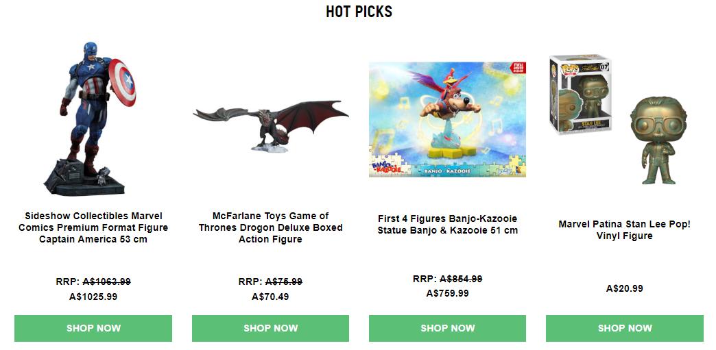 Zavvi Hot Picks