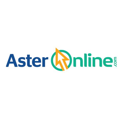 Aster Online logo