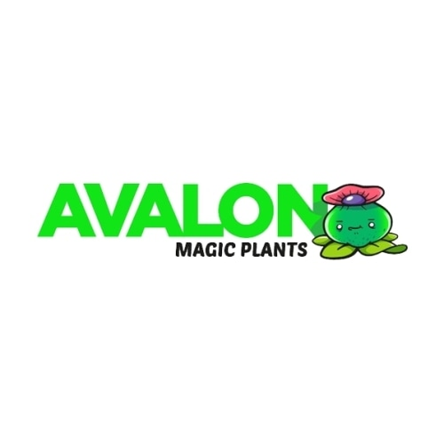 Avalon magic plants logo