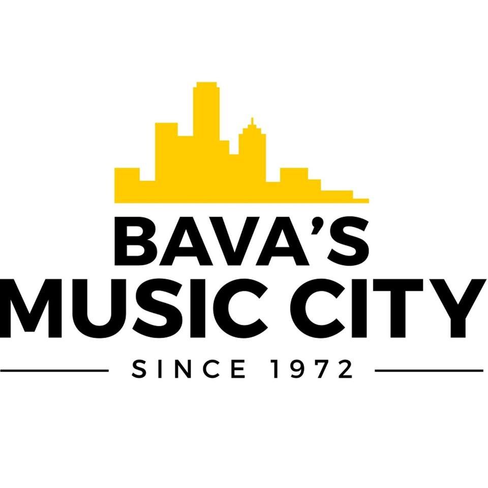 Bavas Music City logo