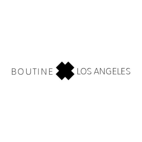 BOUTINE LOS ANGELES