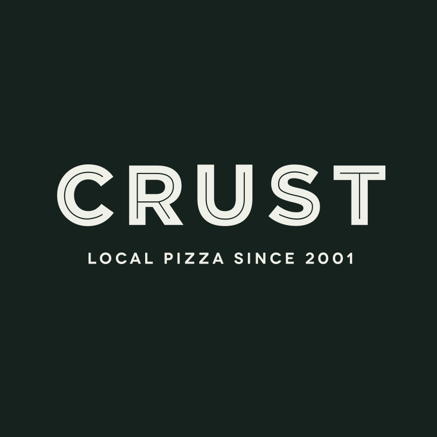 Crust Gourmet Pizza Bar logo
