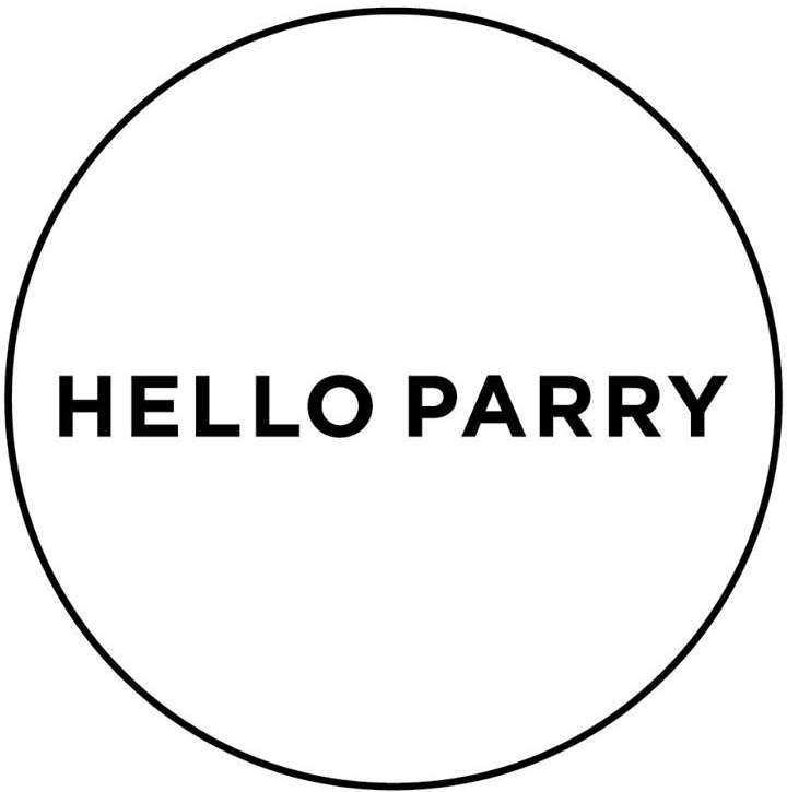 HELLO PARRY logo