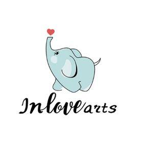 Inlovearts logo