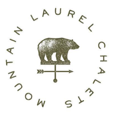 Mountain Laurel Chalets logo
