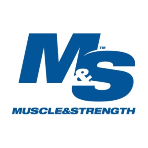Muscle and Strength logo
