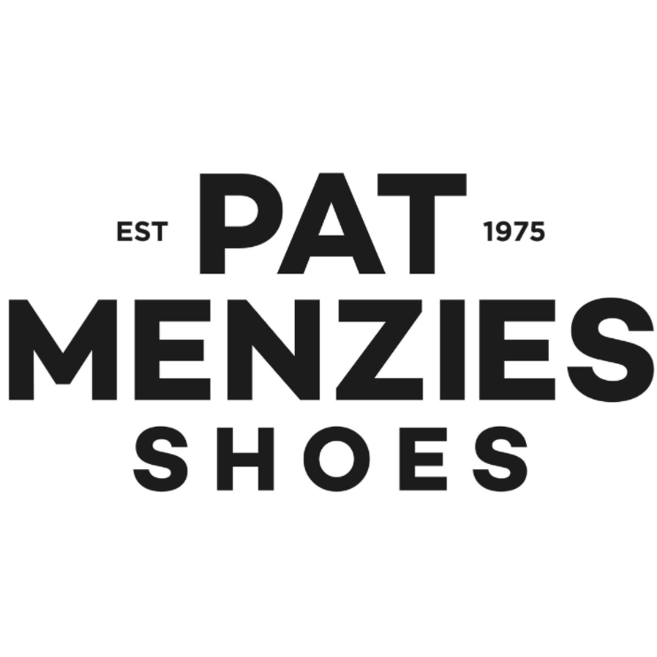 Pat Menzies Shoes logo
