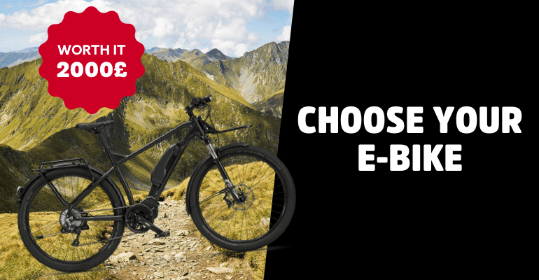 Win an Electronic Bike worth £2000