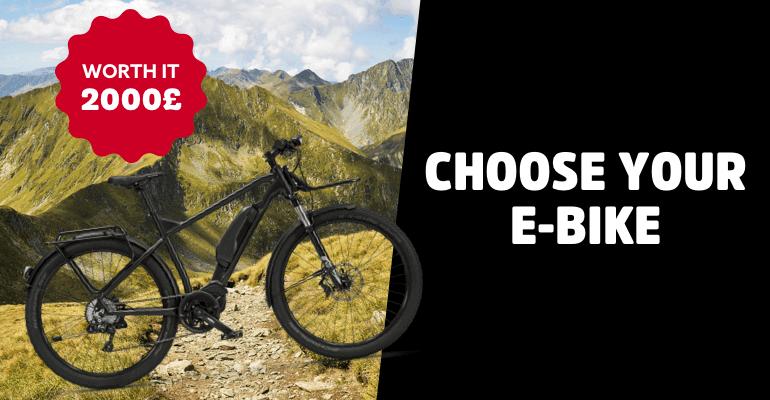 Win an Electronic Bike worth £2000