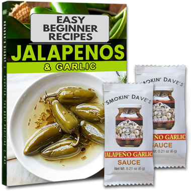 Free samples of Jalapeno & Garlic sauce