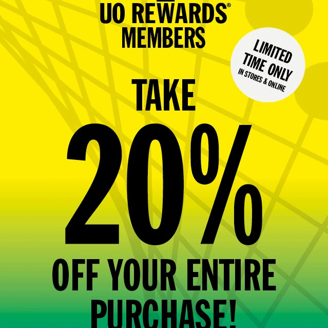 20% Off First Order on Joining Rewards