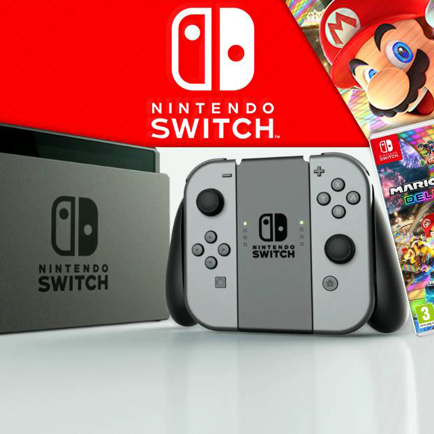 Product Testing - Test and Keep Nintendo Switch Mario Kart 8 Deluxe Bundle